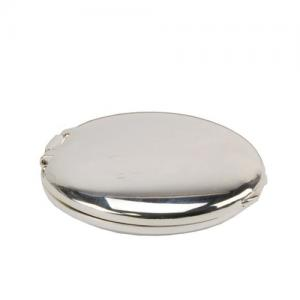 Silver-Plated Compact Mirror