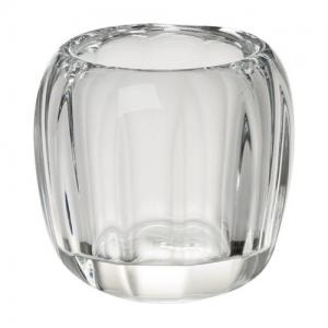 Coloured DeLight Tealight Holder Clear